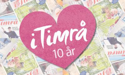 2010 kom det första numret. I år fyller Magasinet i Timrå 10 år.