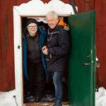 Lisbeth och Martin Eklund vårdar det gamla torpet med ömma händer.