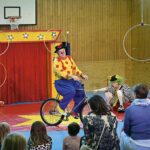Clownen Daff Daff och Miranda.